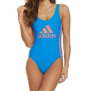 NWT ADDIDAS One piece backless swimsuit